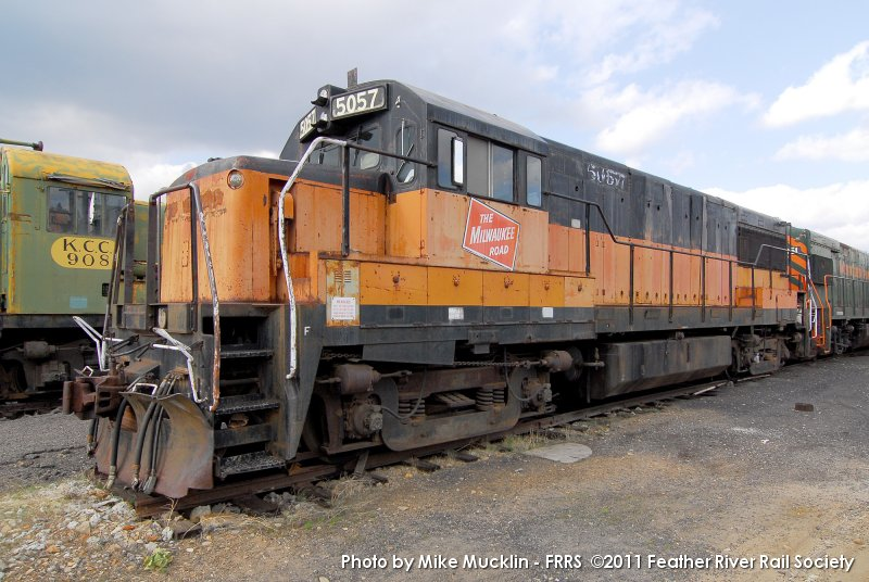 Milwaukee Road U25B #5057